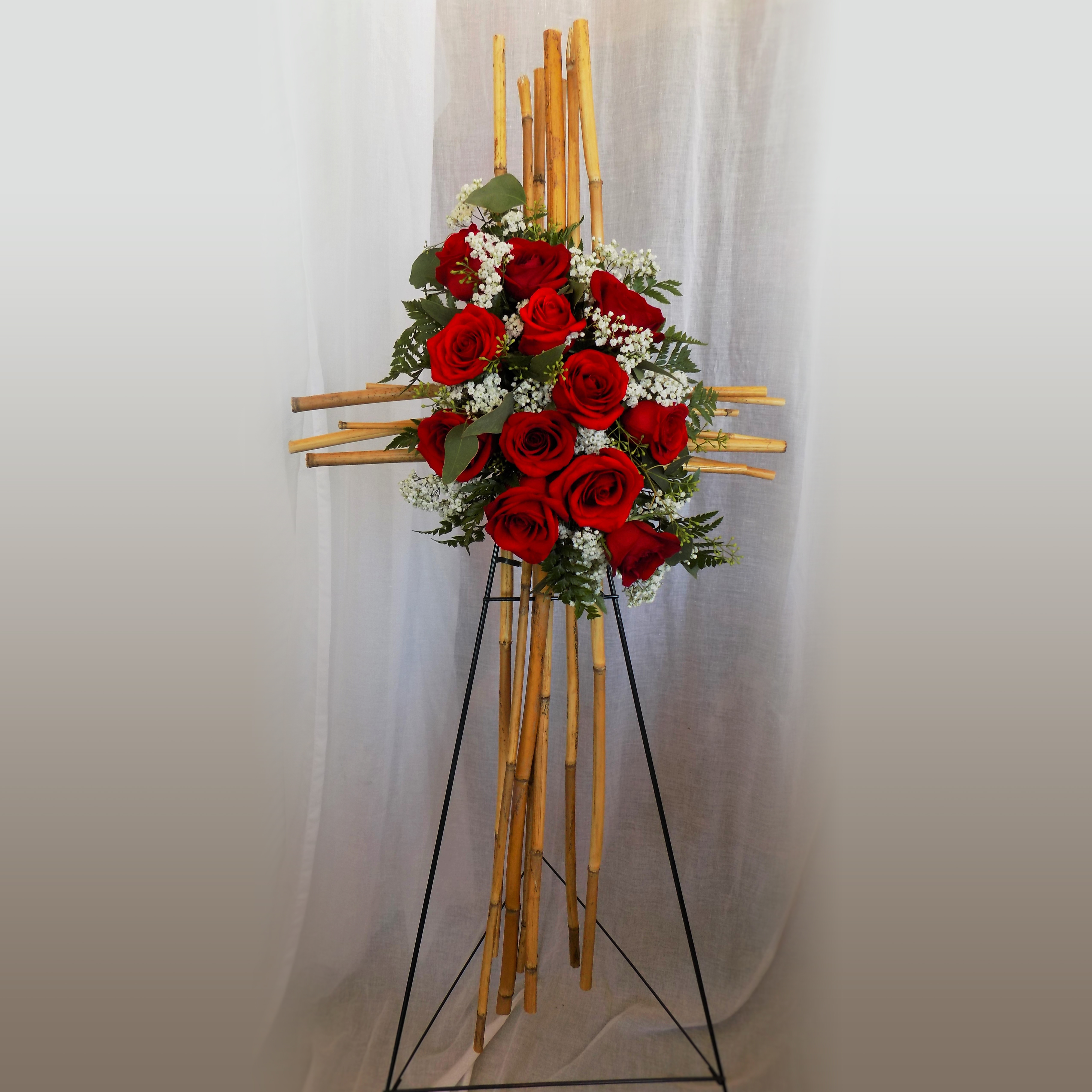 Bamboo Cross Werner Harmsen Funeral Home Of Waupun Wi